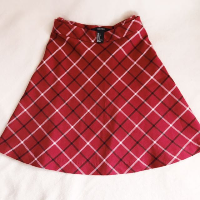 Forever 21 Plaid Skirt