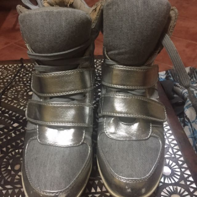 Forever 21 silver wedge (slightly negotiable)