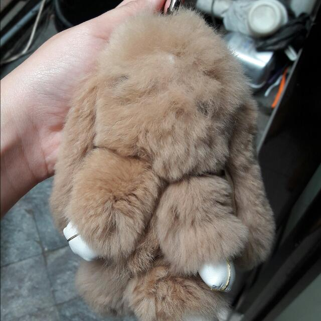 Gantungan Kelinci Copenhagen Bunny Coklat