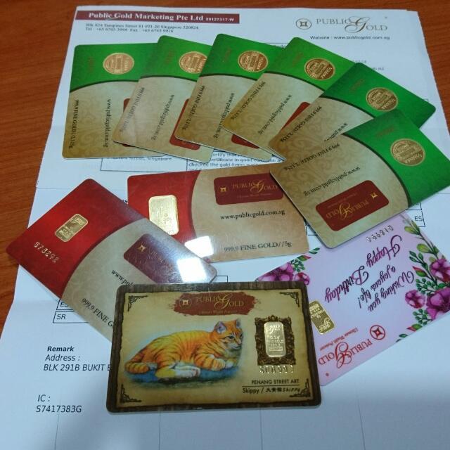 Gold Bar 999.9 24K LBMA