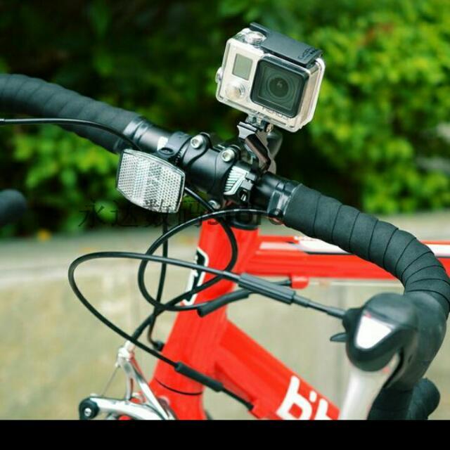 GoPro Action Camera Handle Bar Mount For Bike