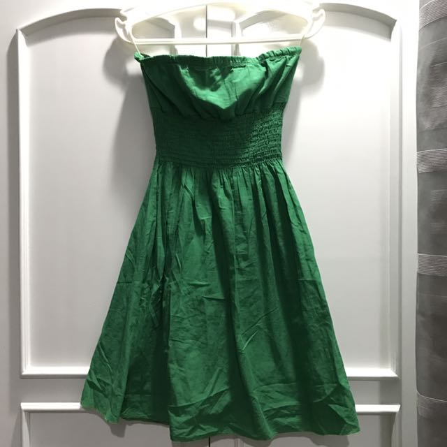 Green Tube Dress