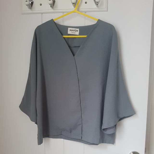 Grey Blouse