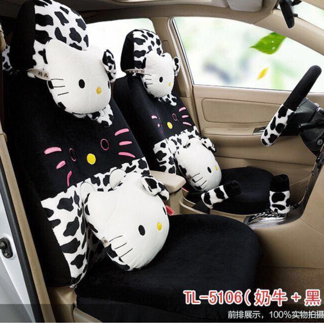 Hello Kitty Car Seat & Accessories Covers (HK2)