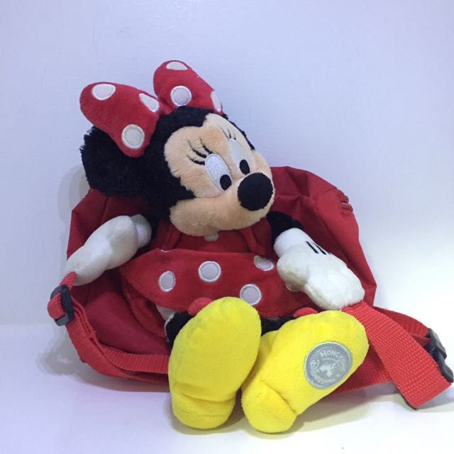 HK Disneyland Minnie Mouse  Belt Bag