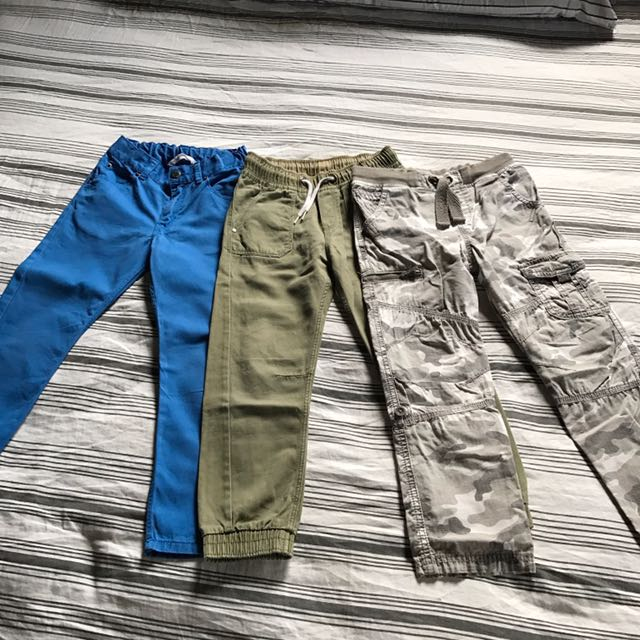 H&M And F&F Colored jeans For Boys 6-7 Yrs Old