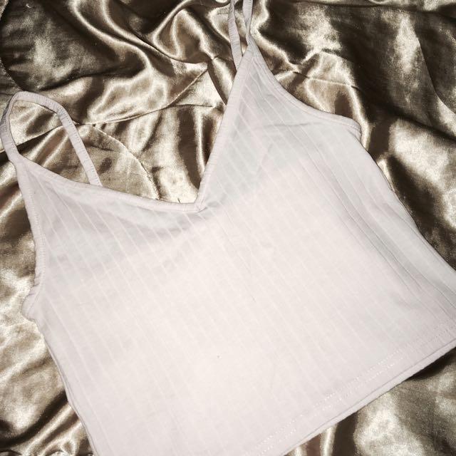 H&M baby pink sleeveless top