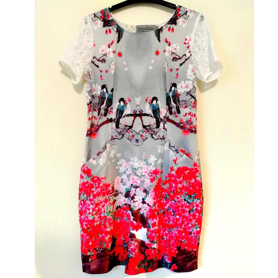 HOLMES & FALLON  shift dress   size 10