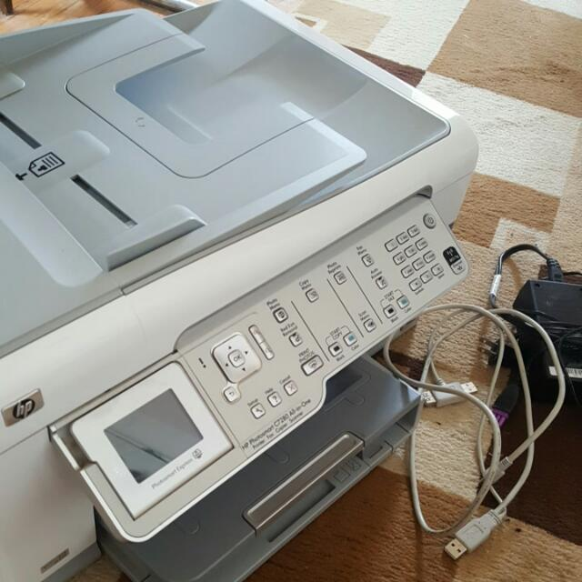 HP Photosmart C7280 ALL in One Printer/fax/copier/Scanner