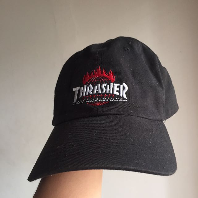 HUF X Trasher cap