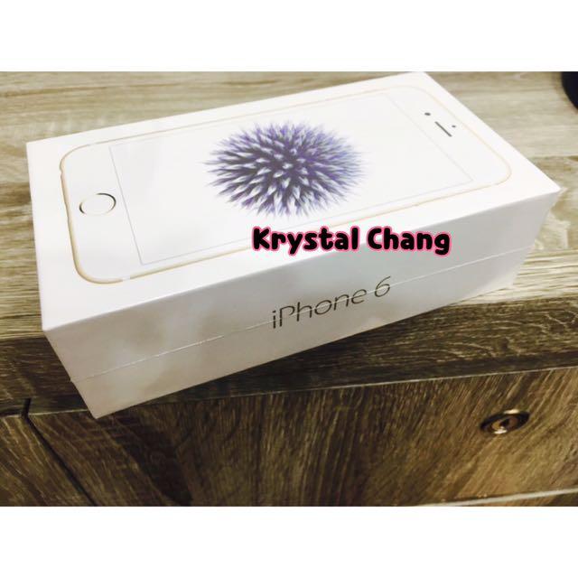 iPhone6 32g 空機 金色 可面交 全新 未拆封 iphone6手機 apple 蘋果 iPhone6 空機