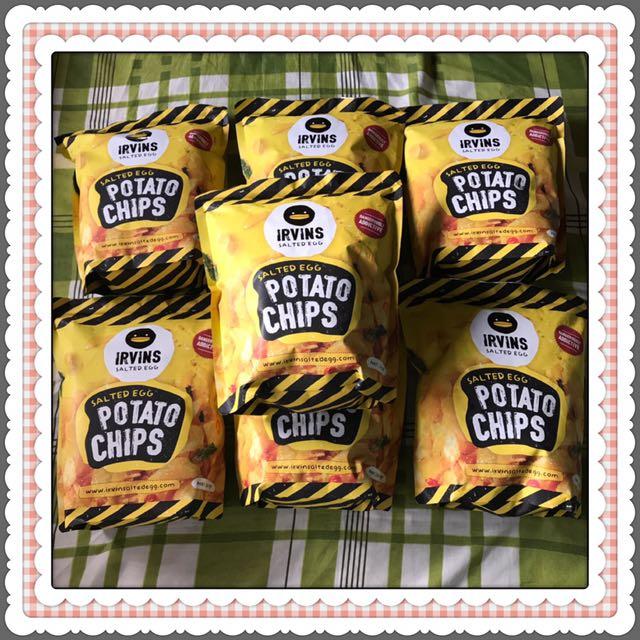 Irvins Salted Egg Potato Chips 230g