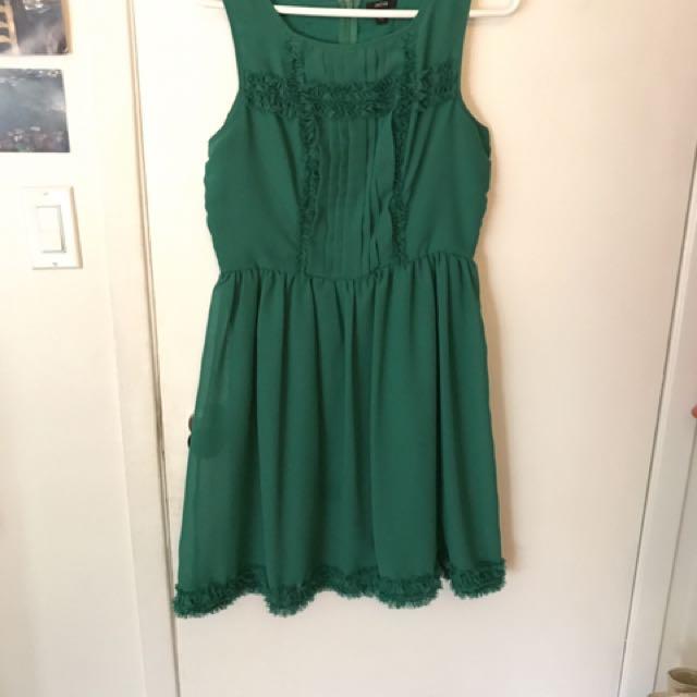 Jacob Size M Green Dress