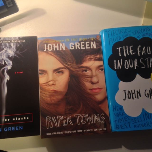 John Green Books (3)