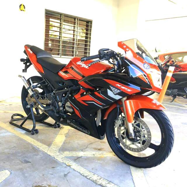 Kawasaki Rr 150zx150superkipsdouble R Motorbikes On Carousell