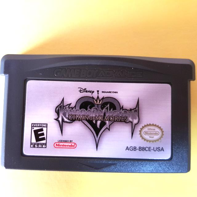 Kingdom Hearts Chain Of Memories 'GBA'