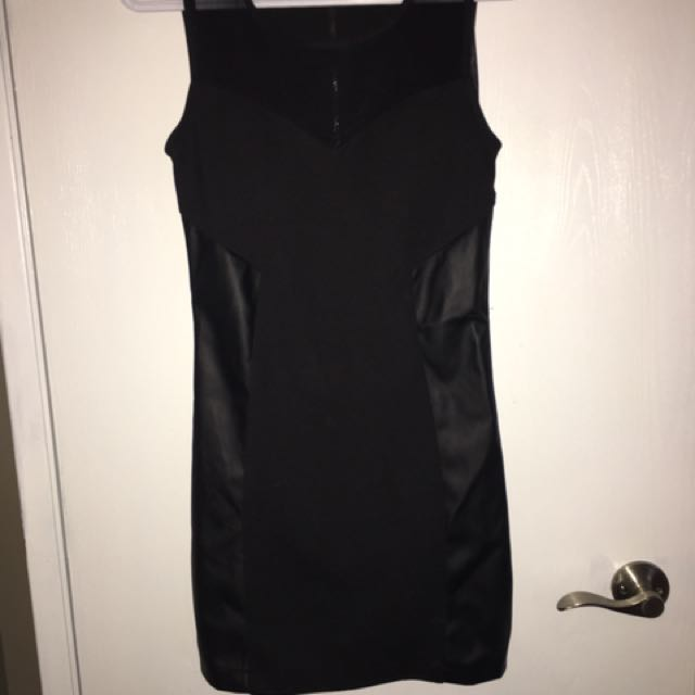 Ladies Size Small- Black Dress