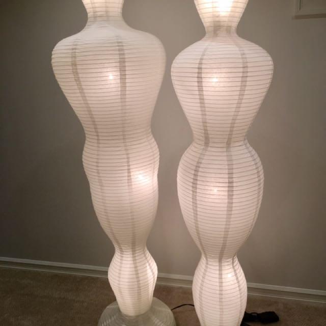 Lamp Set / Male+Female Paper