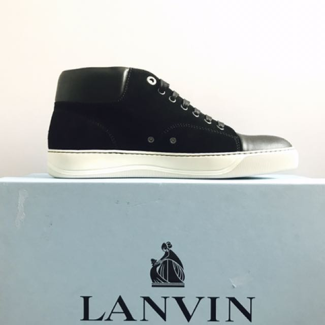 Lanvin Mid Top Sneakers