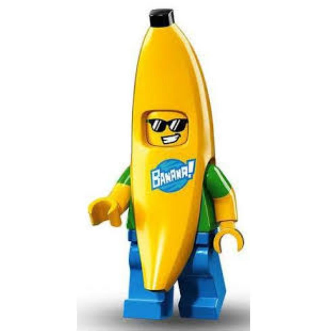 Lego Minifigure Banana Guy