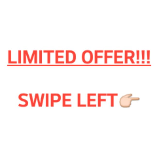 LIMITED OFFER SALE!!!