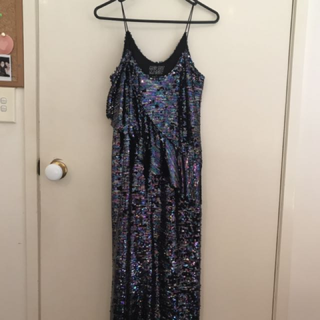 Mad But Magic The Label Sequin Maxi Dress