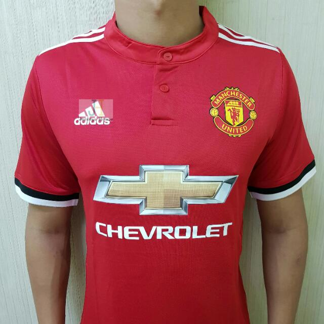 new styles a3199 63ae9 Manchester United Home Kit 2017/2018 Jersey