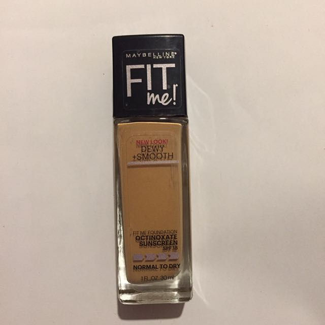 Maybelline Fit Me Foundation Dewy + Smooth
