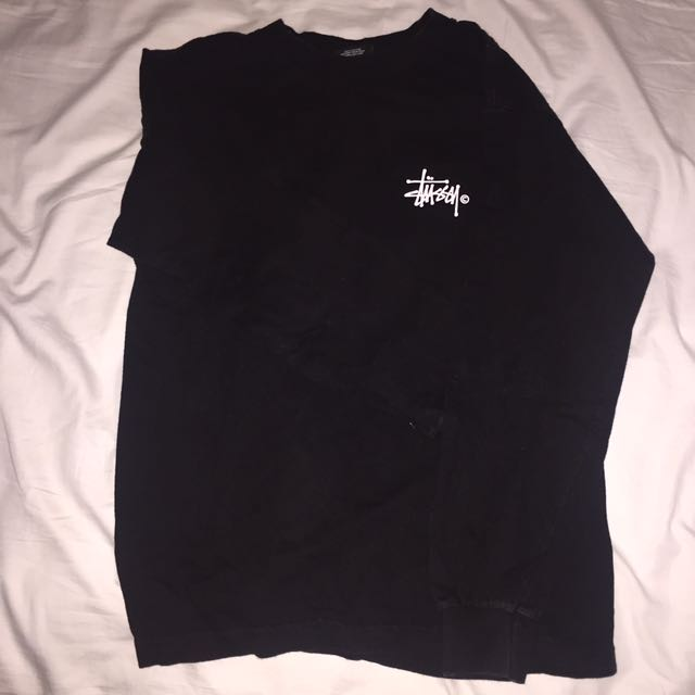 Men and women's authentic Stussy long sleeve top
