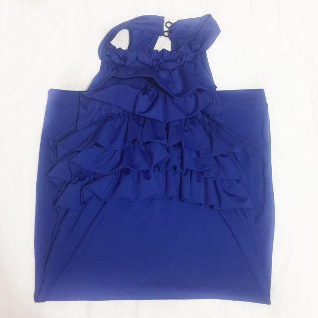 Midnight Blue Bodycon Dress