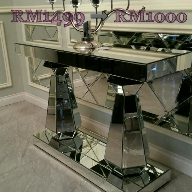 Mirrored Console Table SSF Home Furniture Decor On Carousell