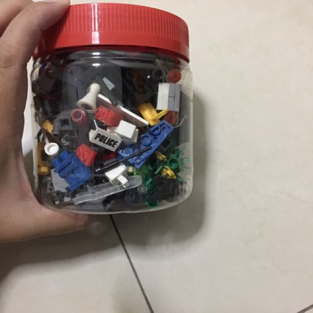 "Mixed Of ""Lego""s Pieces"
