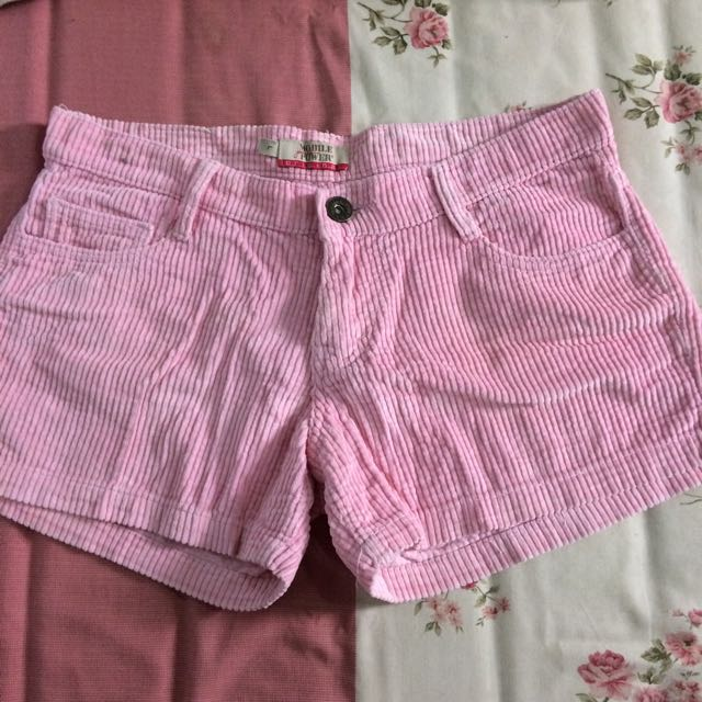 MOBILE POWER PINK SHORT PANTS