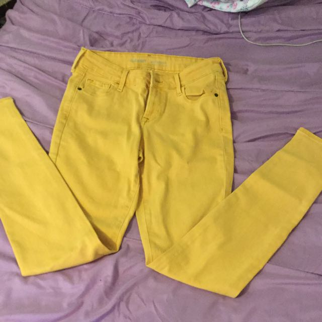 Musterd Yellow Jeans