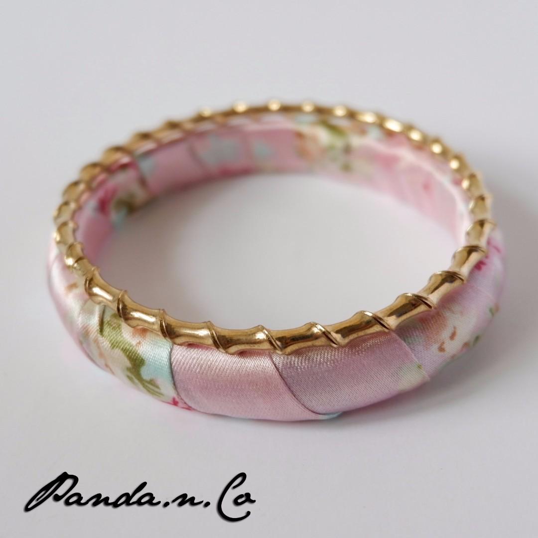 Nanami Bracelet - Gelang Pink - Statement Bracelet