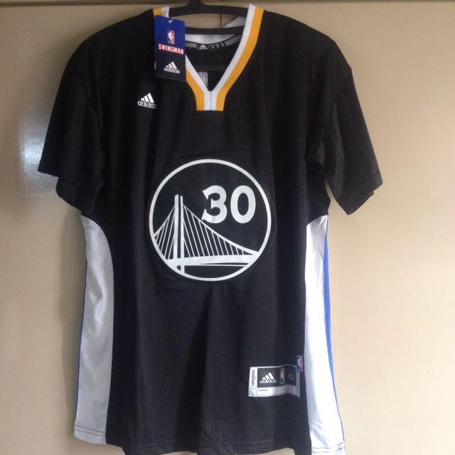NBA Curry Jersey Shirt Black
