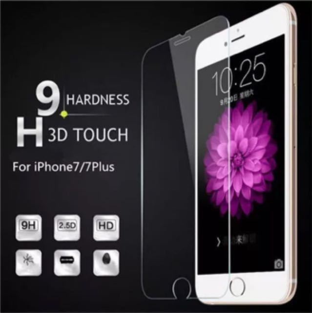 New Tempered glass Iphone 7