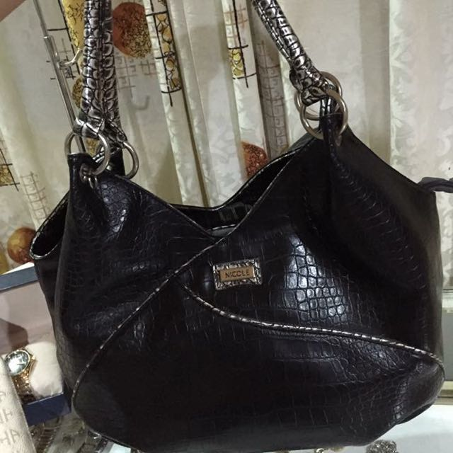 Nicole Miller Leather Bag