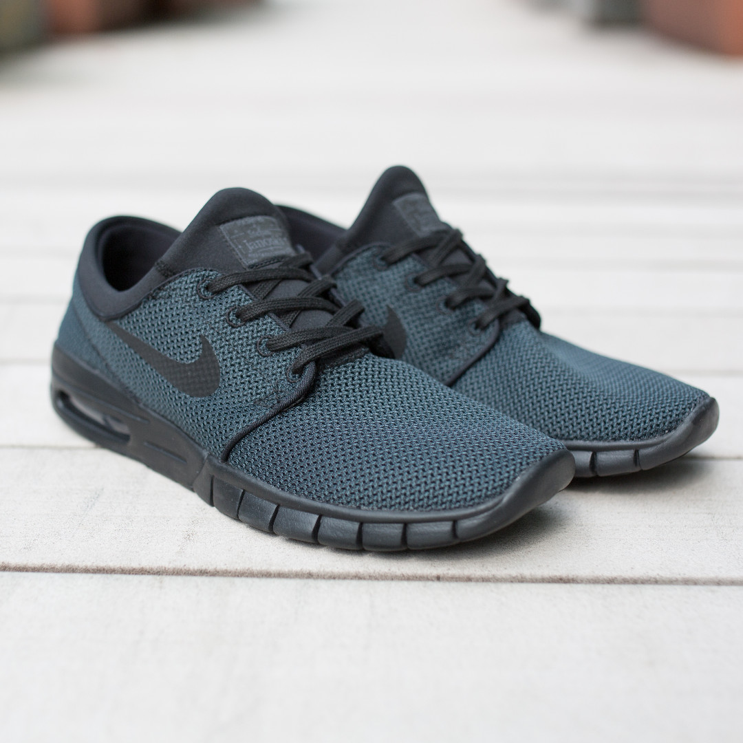 bd16158d0a3 Nike SB Stefan Janoski Max Black Noir Slate Green - US10 UK9