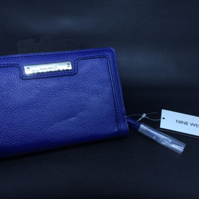 Nine West Ladies Wallet Blue (100% original)