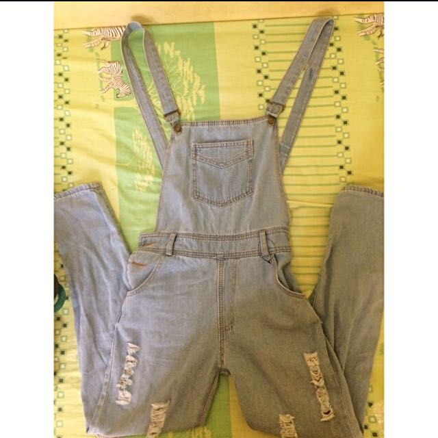 Overall Jeans Cewek
