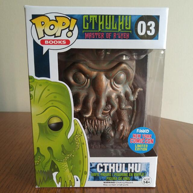 Patina Metal Cthulu Funko Pop