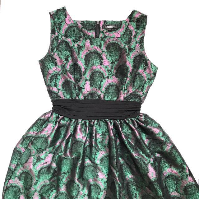 Peacock Dress