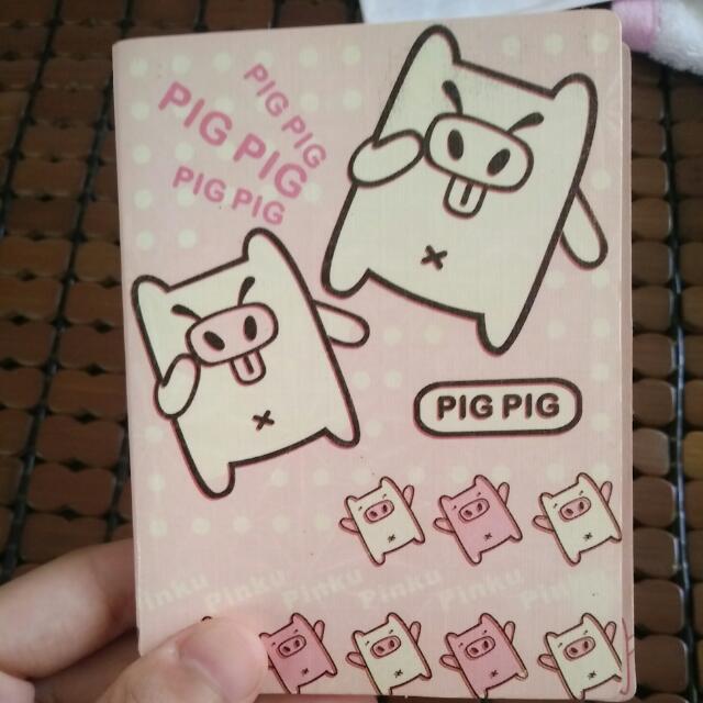 Pig可愛豬貼紙收集本 #0元贈品區