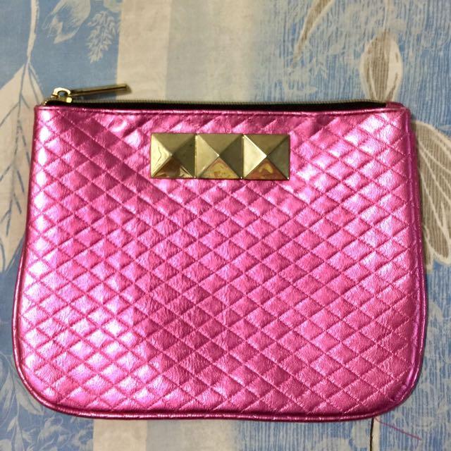 Pink Beauty Bar Pouch