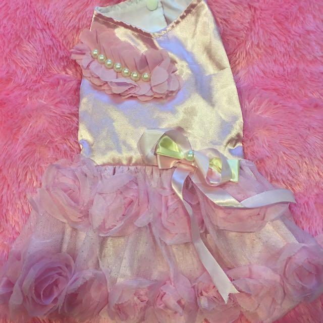 Pink Rose Glamour Dress