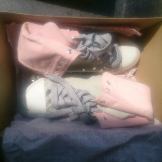 Pink&Gray Sneakers