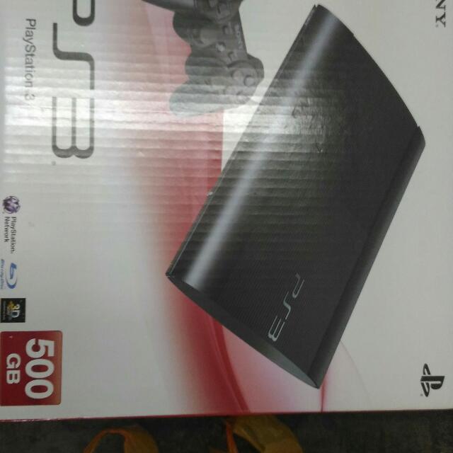 PS3 500 GB Original Set .Cash&Carry