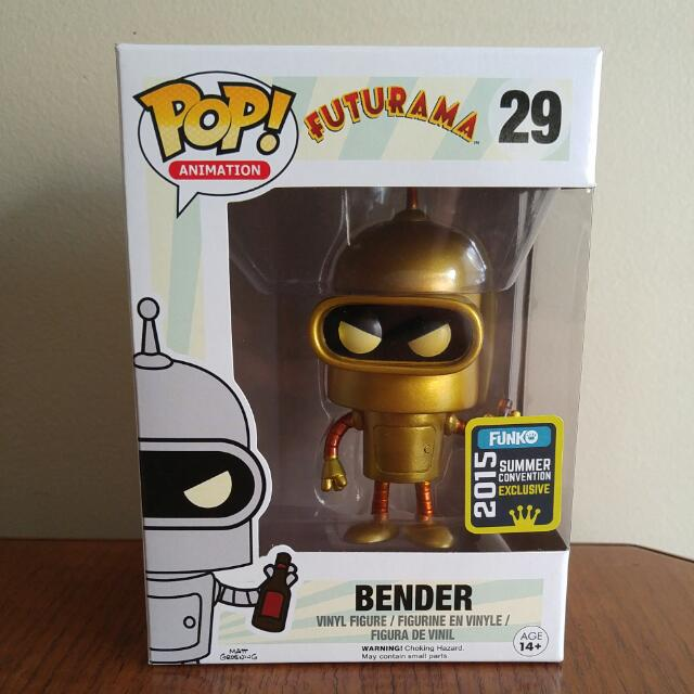 Gold Bender Funko Pop