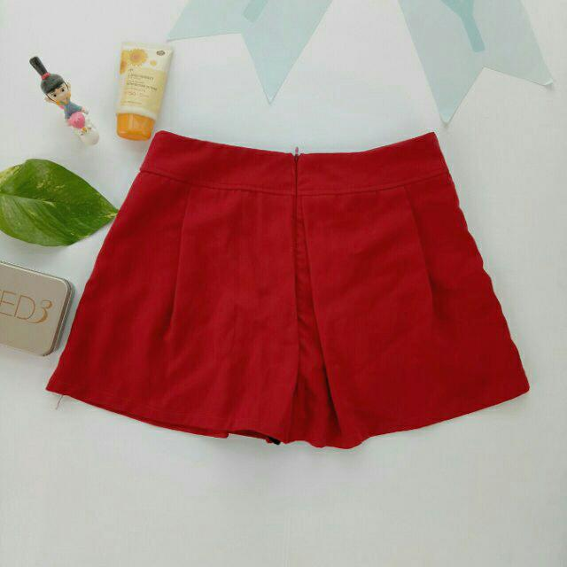 Red Short Skirt